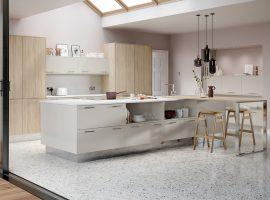 1Chic Limestone & Linear Bardolino Oak