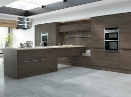 Linear Brown Grey Avola