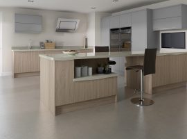 Linear Painted Light Grey & Bardolino Oak (Main)
