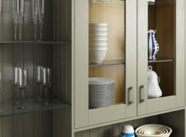 Painted Sage Grey Timber Shaker