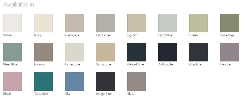 21 colours